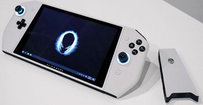 alienware concept ufo with controller bridge