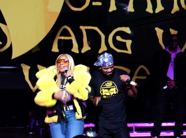 January 30, 2020, Radio City Music Hall, Mary J. Blige & Wu Tang's Method Man perform their #1 R&B duet ″You're All I Need″ at LOUD Records 25th anniversary.