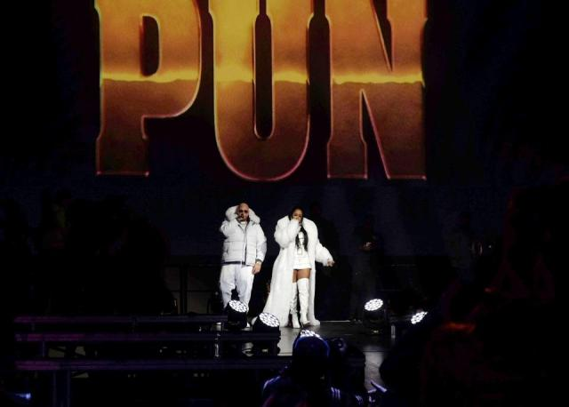 January 30, 2020, Radio City Music Hall. Fat Joe and Remy Ma pay tribute to the late rapper Big Pun at LOUD Records 25th Anniversary