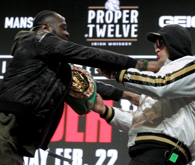 Deontay Wilder Vs Tyson Fury   Things You Should Know About