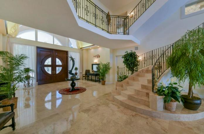 Grand entryway in Florida