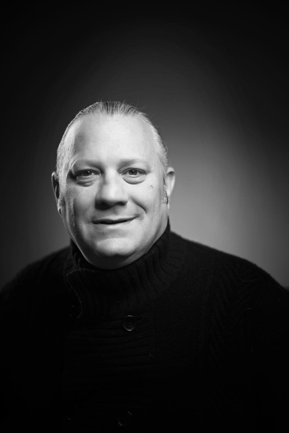 nice black and white headshot of Allen Stein