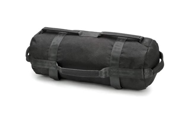 If you're missing the gym and want and easy way to lift weights at home, a sang bag can make a great alternative that takes up less space