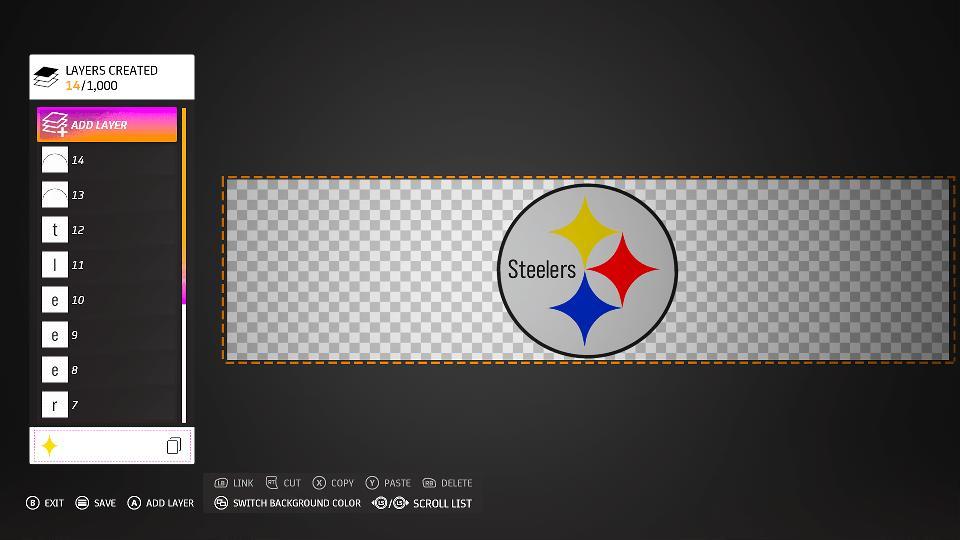 Pittsburgh Steelers MotoGP 20 logo