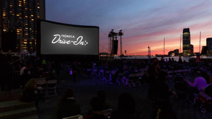 De Niro Tribeca drive-in