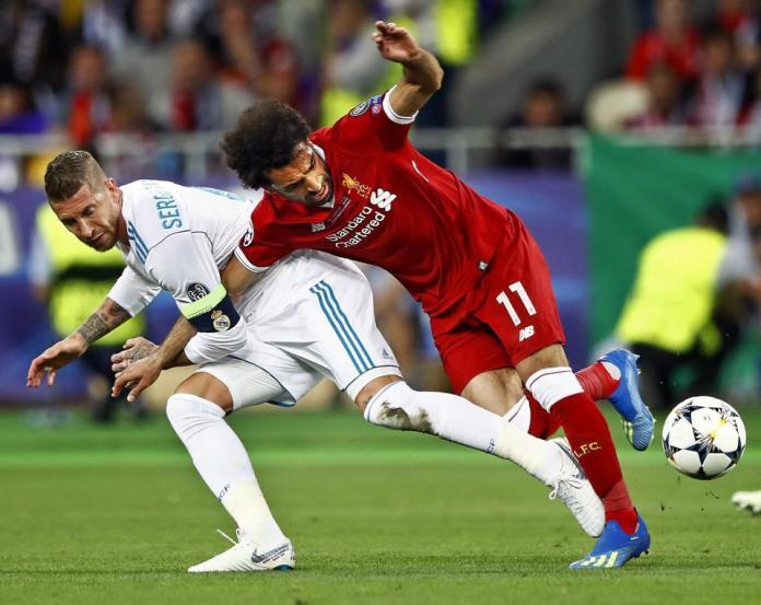 UEFA Champions League 'Real Madrid v Liverpool FC'