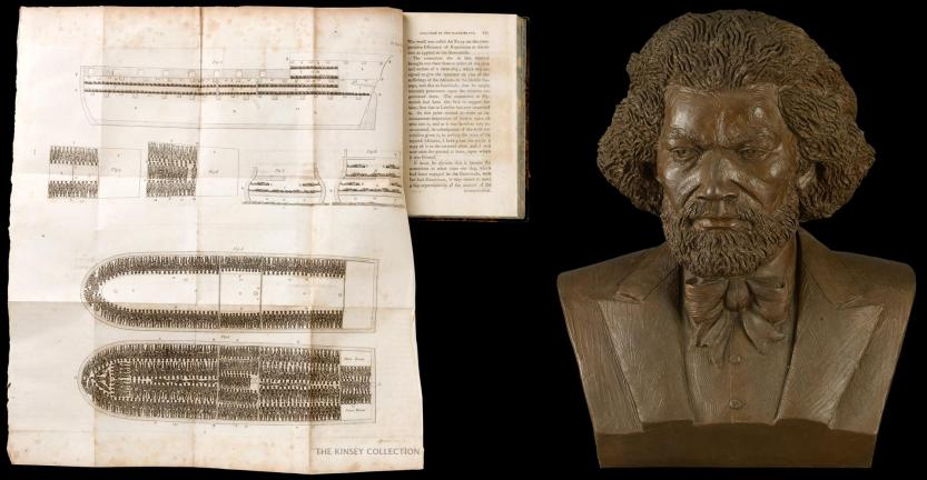 Abolition-Slave-Trade-Book-AND-Douglass-Bust-v1