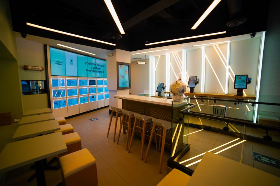 An image of Box'd, a new automated restaurant chain in Toronto.