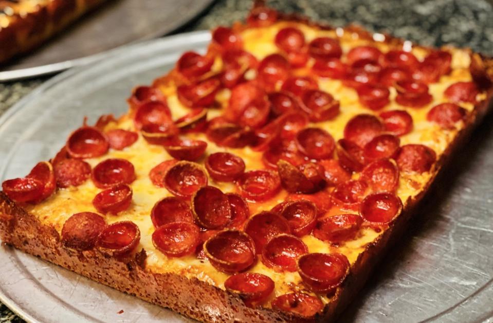 Capo's Detroit style pizza