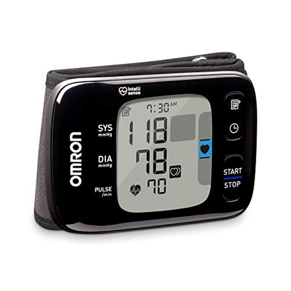The Omron 7 Series Wireless Wrist Blood Pressure Monitor