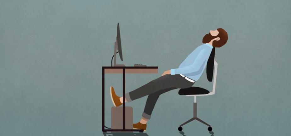 Disengaged worker