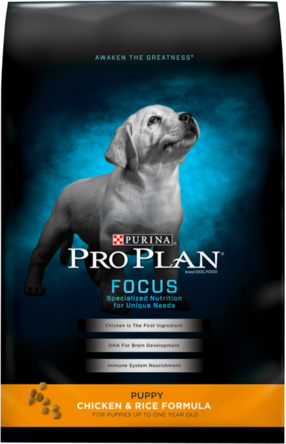 Purina Pro Plan Focus Puppy Chicken & Rice Formula Dry Dog Food, 34-lb. Bag