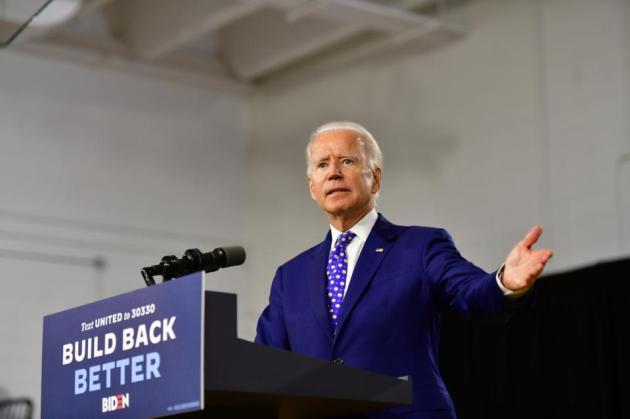Cory Gardner Presidential Candidate Joe Biden Makes Economic Address In Wilmington, Delaware