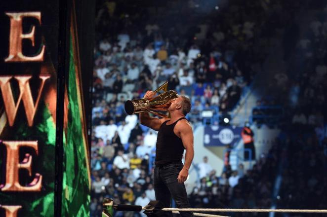 WWE star Shane McMahon