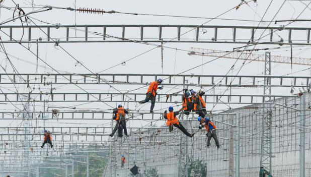 Blockchain: Beijing Fengtai Railway Station Under Reconstruction