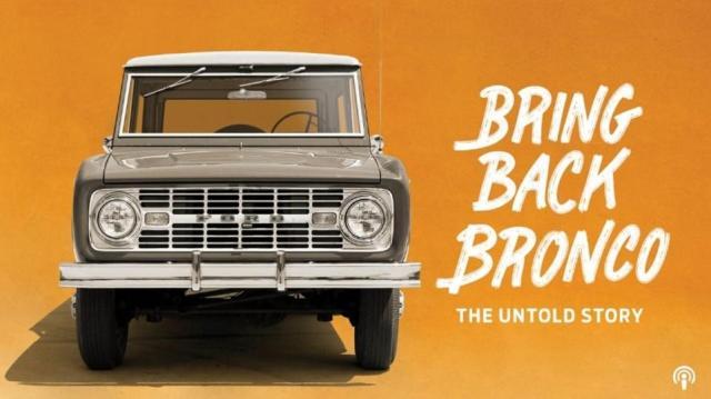 Bronco podcast logo.