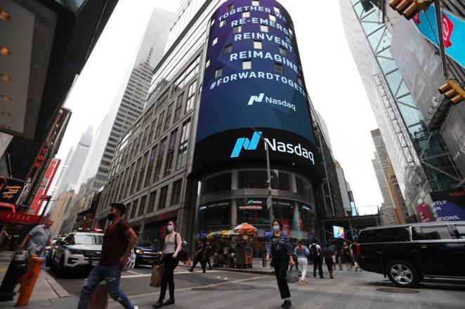 U.S.-NEW YORK-STOCK-FALL