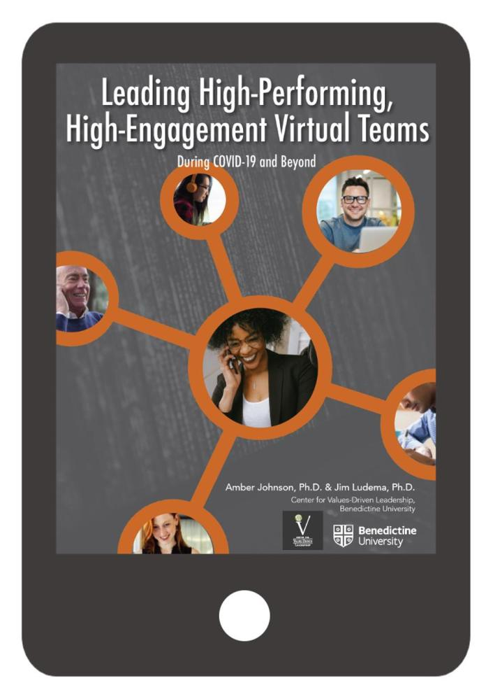 Ebook for virtual team leadership