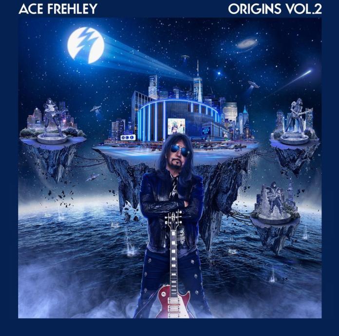 Original KISS guitarist Ace Frehley releases his latest solo album 'Origins Vol. 2' via the eOne label