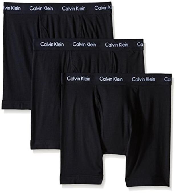 Calvin Klein Men's Cutton Ton Stretch Multipack B Box Xr Briefs, Black, Medium