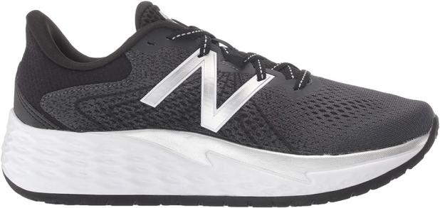 New Balance Women's Fresh Foam Ewer V1 Running Shoe, Black / Silver Metallic, 6MU