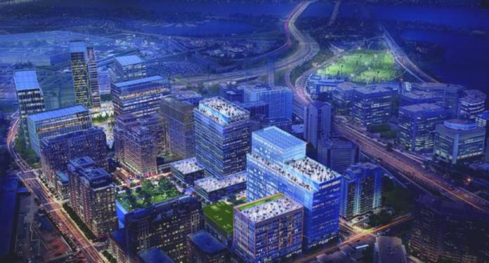 Amazon's proposed Pen Place in Pentagon City