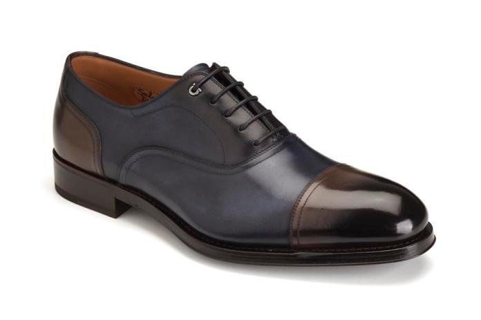 The Tramezza construction shoe by Salvatore Ferragamo is the most exclusive segment of Salvatore Ferragamo men's footwear