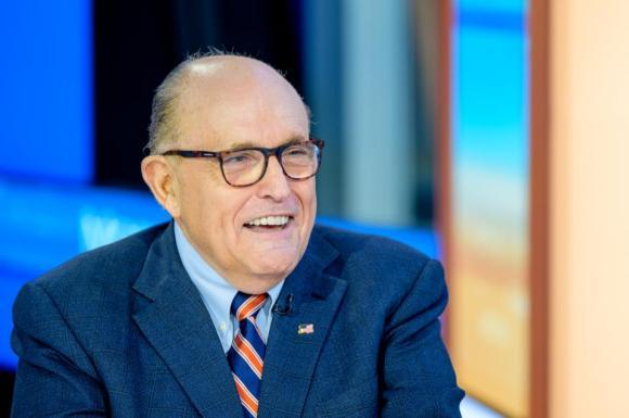 Rudy Giuliani Visits ″Mornings With Maria″