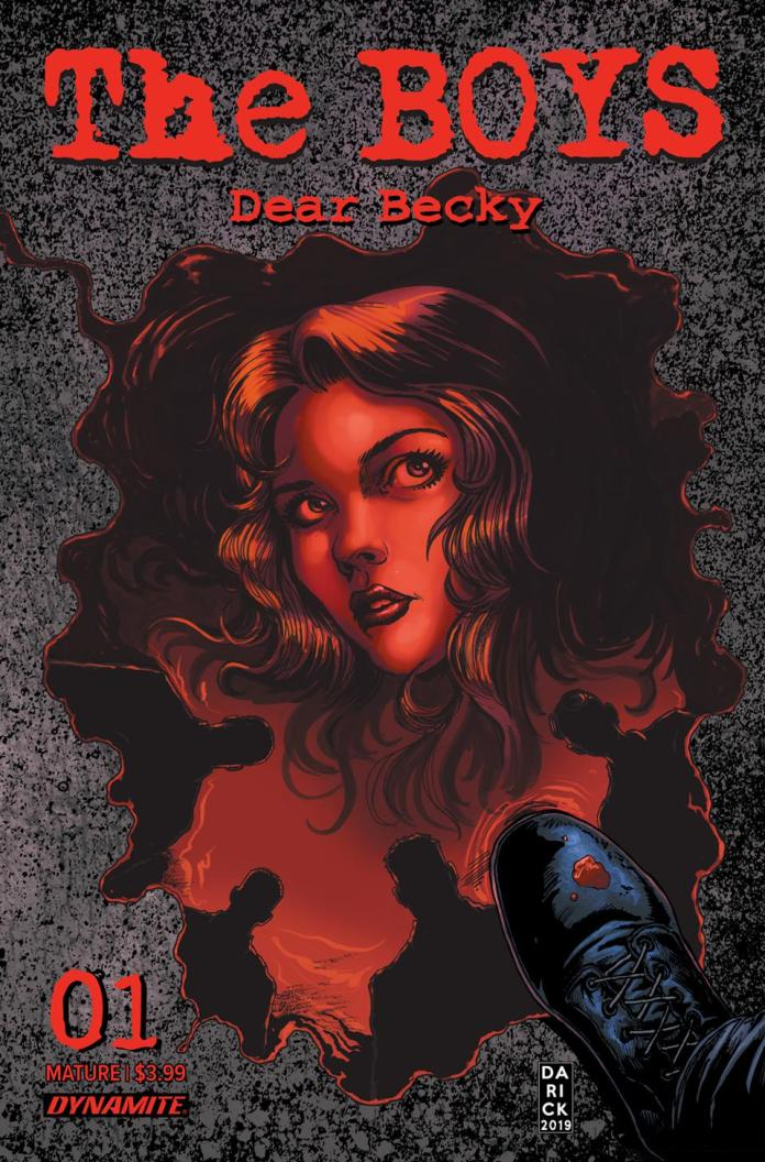 Cover to Dear Becky #1 Dynamite Entertainment