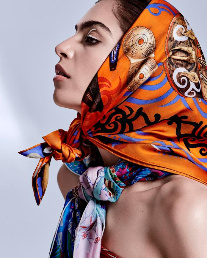 Hermès: Silk Scarves 2020 Campaign.
