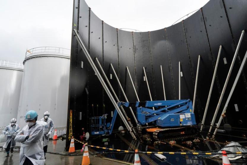 A Look At TEPCO's Dai-ichi Nuclear Power Plant In Fukushima