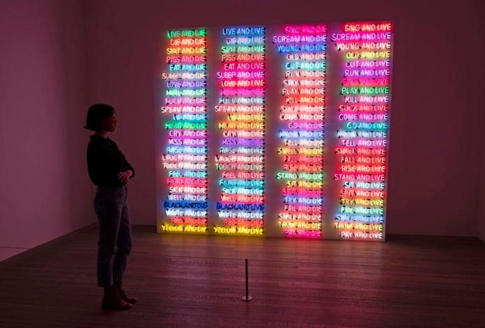 ″Bruce Nauman″ Exhibition At The Tate Modern