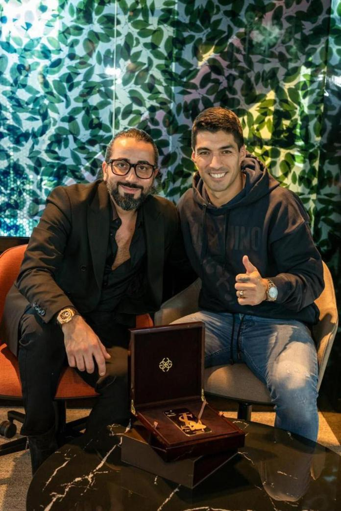 Puia Shamsossadati, Founder and CEO of Golden Concept In Collaboration with Luis Suarez