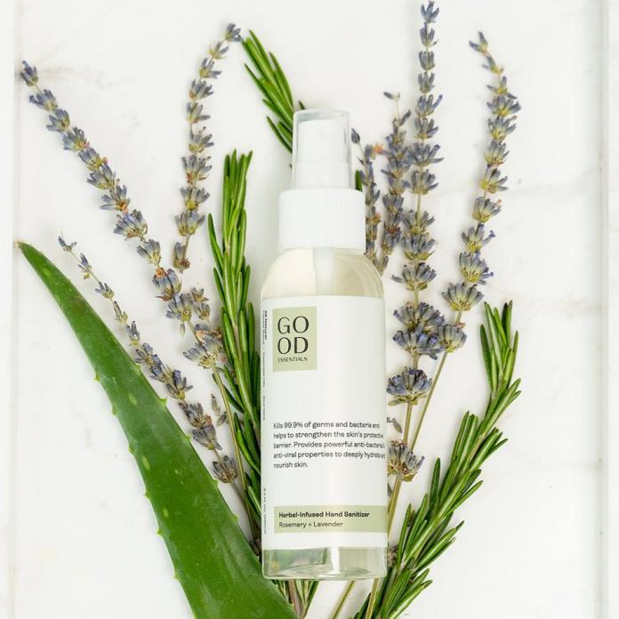Herbal Infused Hand Sanitizer in Lavender from GOOD ESSENTIALS