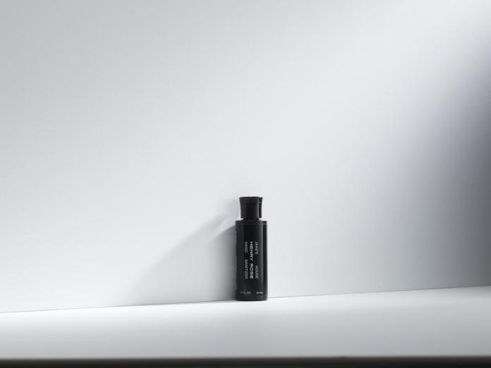100% Ingredient Transparent Hand Sanitizer by HENRY ROSE
