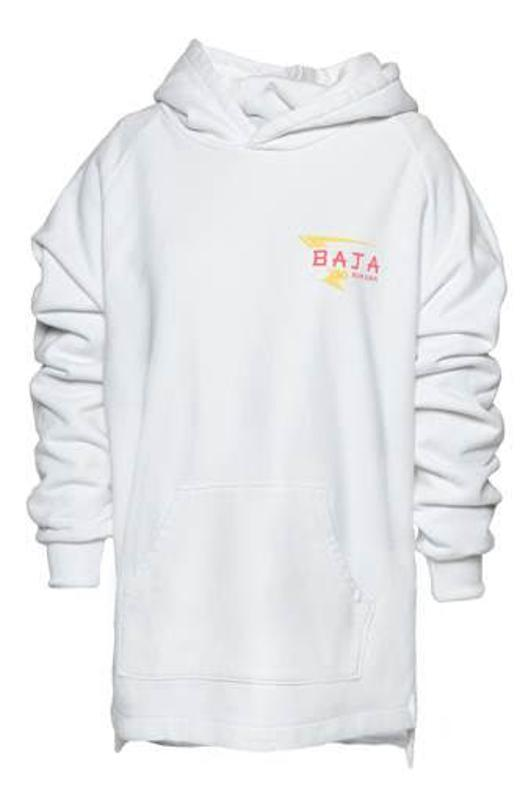 Baja East Bi-Level Hoodie with Baja Burger