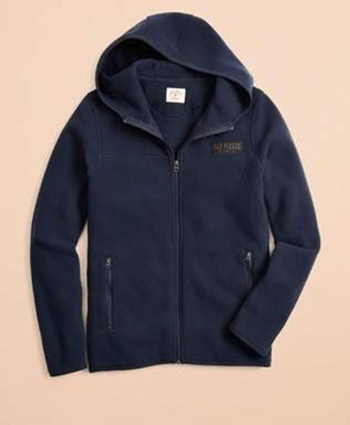 Brooks Brothers Red Fleece Polar Fleece Hoodie
