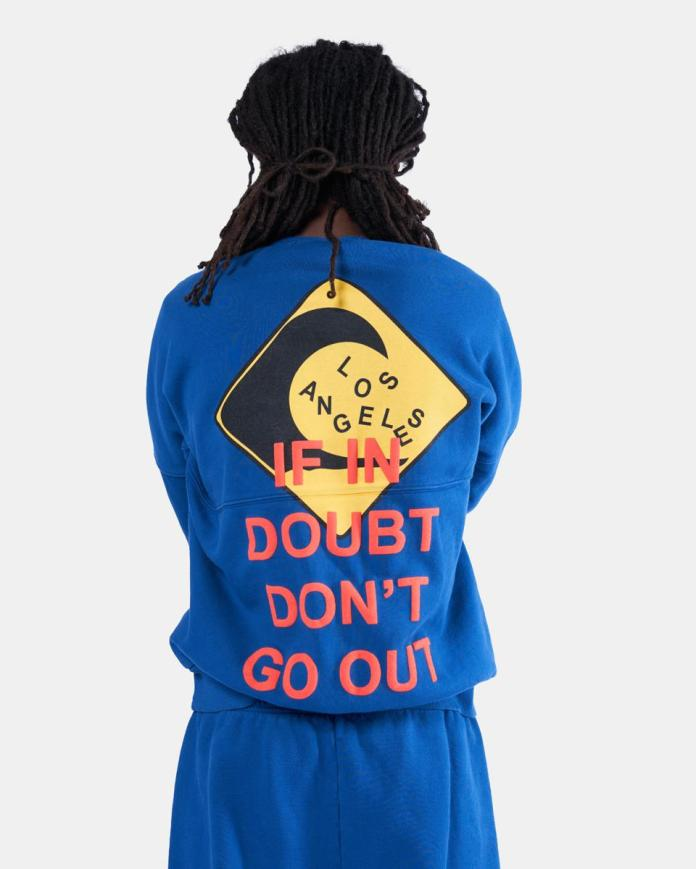 If In Doubt Don't Go Out Spirit Jersey® Sweatshirt