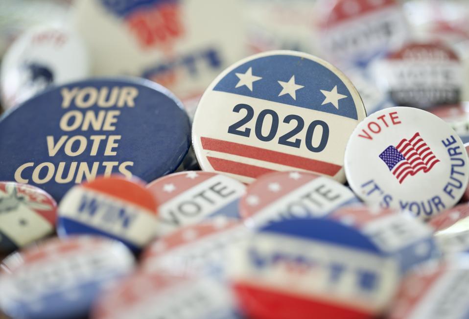 Vintage Campaign Buttons 2020