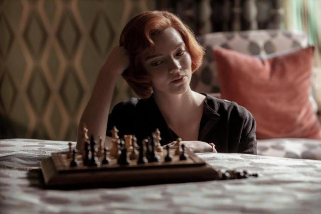 Anya Taylor-Johnson The Queen's Gambit chess