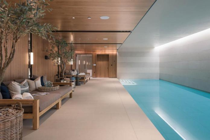The private pool at Three Mulberry