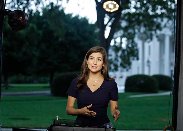 CNN's Kaitlan Collins at the White House