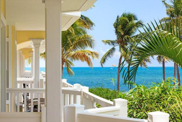 Beach resort on Atlantic in Key West