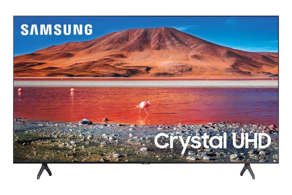 SAMSUNG 58 ″ 4K Crystal LED with HDR (UN58TU7000) 2020