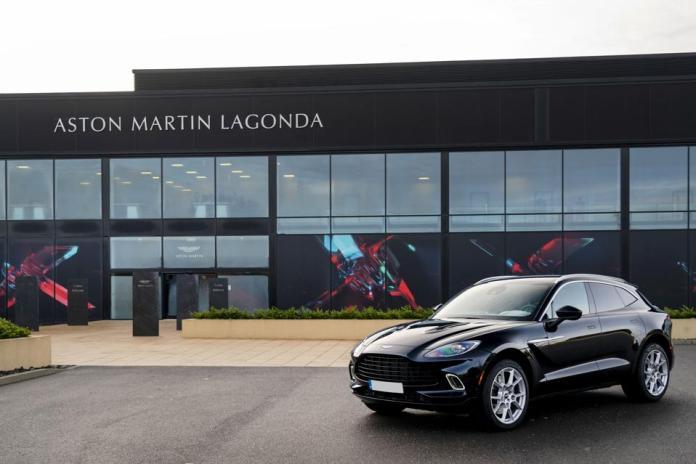 Aston Martin DBX, Aston Martin Residences, bold, luxury car, sleek, SUV sports car, black