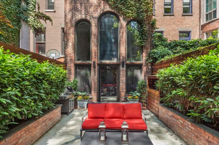 A nearly 120-year-old townhouse on Manhattan's Upper East Side.