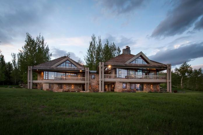 A luxury home in Colorado.