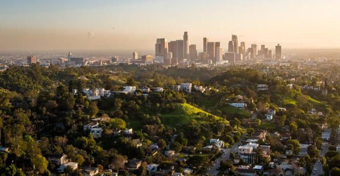 Los Angeles Rolling Hills and Downtown