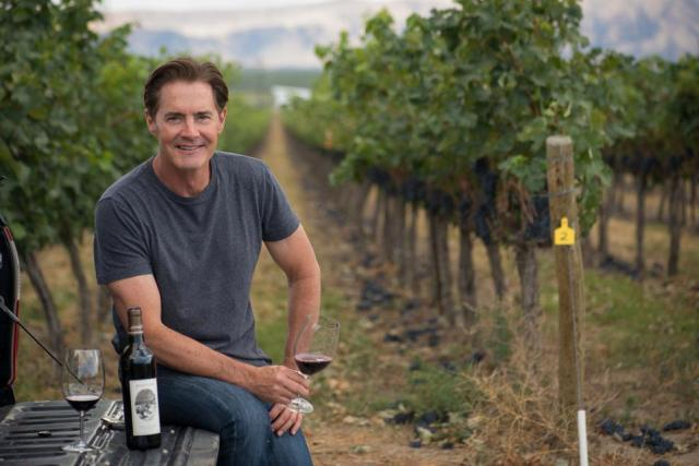 Kyle MacLachlan is an actor and winemaker who owns Pursued by Bear in Washington state.