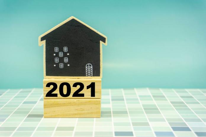 2021 on Wooden Block with Small House Replica. Motivation, Inspiration Concepts and Background.